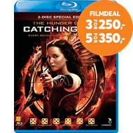 Produktbilde for The Hunger Games 2 - Catching Fire (DK-import) (BLU-RAY)