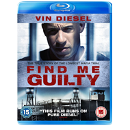 Produktbilde for Find Me Guilty (UK-import) (BLU-RAY)