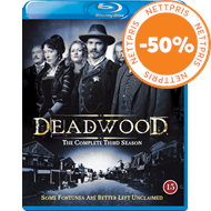 Deadwood - Sesong 3 (BLU-RAY)