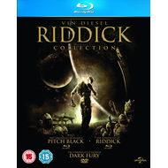 The Riddick Collection (UK-import) (BLU-RAY)