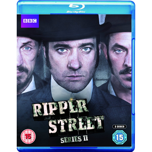 Ripper Street - Sesong 2 (UK-import) (BLU-RAY)