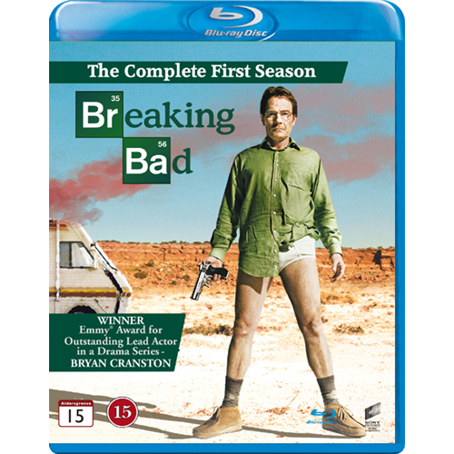 Breaking Bad - Sesong 1 (BLU-RAY)