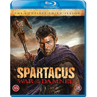 Spartacus - War Of The Damned - Sesong 3 (BLU-RAY)