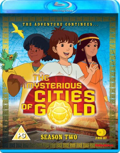 The Mysterious Cities Of Gold - Sesong 2 (UK-import) (BLU-RAY)