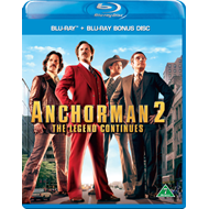 Anchorman 2 - The Legend Continues (BLU-RAY)