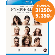 Produktbilde for Nymphomaniac - Del 1 & 2 (DK-import) (BLU-RAY)