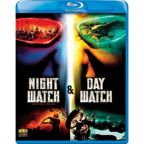 Night Watch & Day Watch (UK-import) (BLU-RAY)