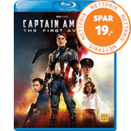 Produktbilde for Captain America 1 - The First Avenger (BLU-RAY)