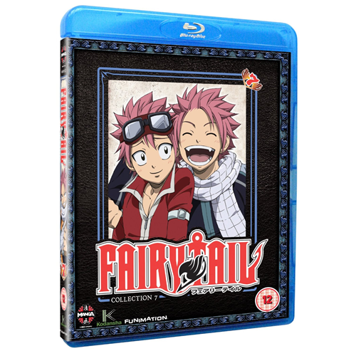 Fairy Tail - Del 7 (UK-import) (BLU-RAY)