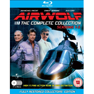 Airwolf - The Complete Series (UK-import) (BLU-RAY)
