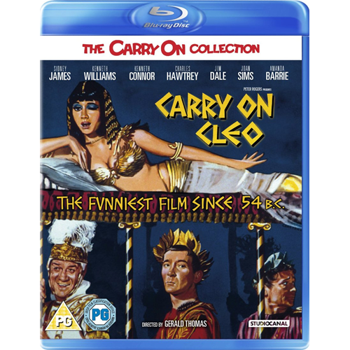 Carry On Cleo (UK-import) (BLU-RAY)
