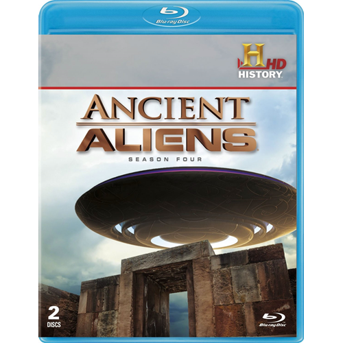 Ancient Aliens - Sesong 4 (BLU-RAY)