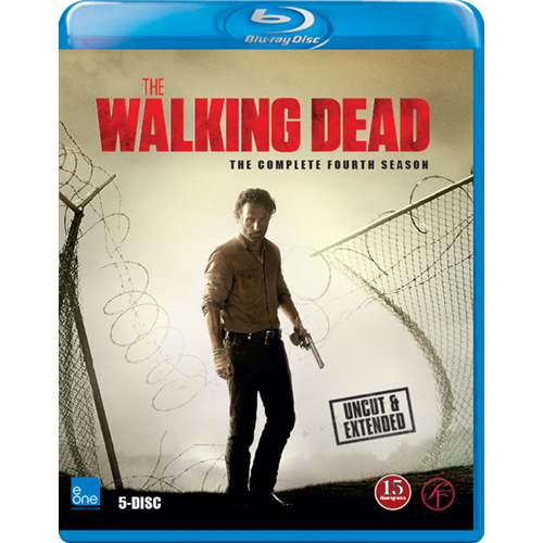 The Walking Dead - Sesong 4 (BLU-RAY)