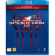 The Amazing Spider Man 1 & 2 (DK-import) (BLU-RAY)