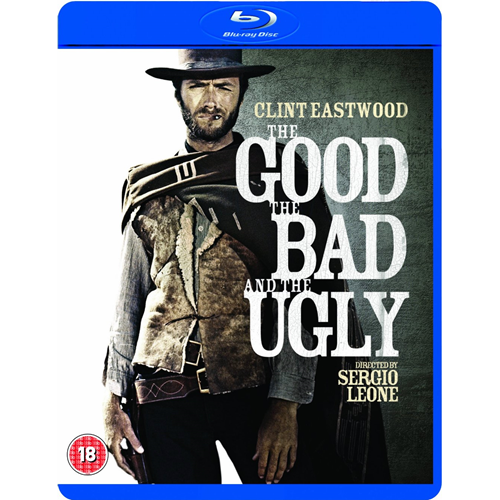 The Good The Bad And The Ugly - Remastered Edition (UK-import) (BLU-RAY)