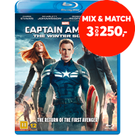 Produktbilde for Captain America 2 - The Winter Soldier (BLU-RAY)