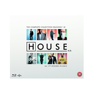 House M.D. - The Complete Series (UK-import) (BLU-RAY)