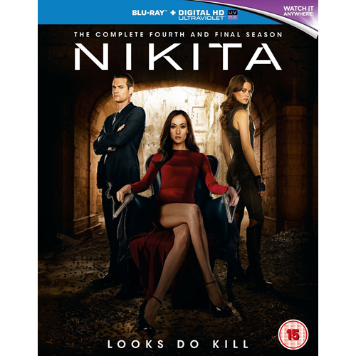 Nikita - Sesong 4 (UK-import) (BLU-RAY)