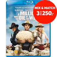 Produktbilde for A Million Ways To Die In The West (BLU-RAY)