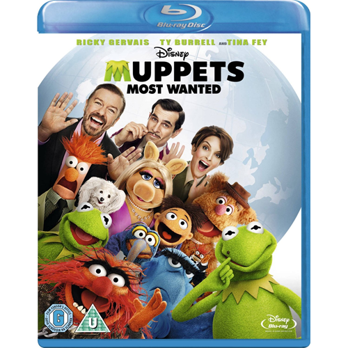 Muppets Most Wanted (UK-import) (BLU-RAY)