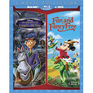 The Adventures Of Ichabod & Mr. Toad / Fun And Fancy Free (BLU-RAY)