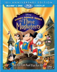 Mickey, Donald, Goofy: The Three Musketeers (BLU-RAY)