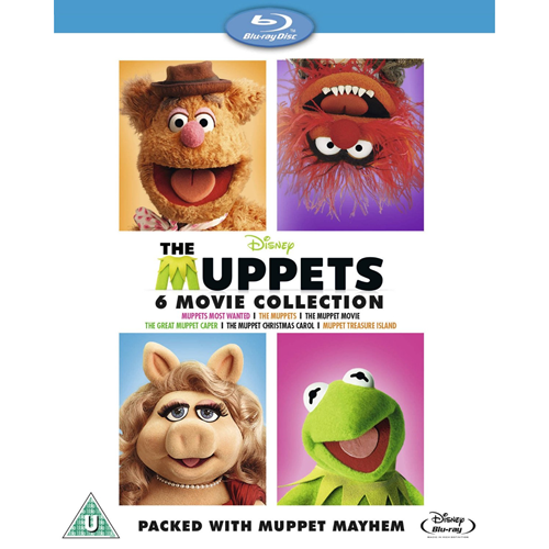 The Muppets 6-Movie Collection (UK-import) (BLU-RAY)