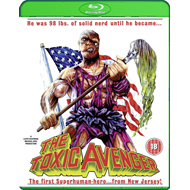 The Toxic Avenger - Uncut Nuclear Edition (UK-import) (BLU-RAY)