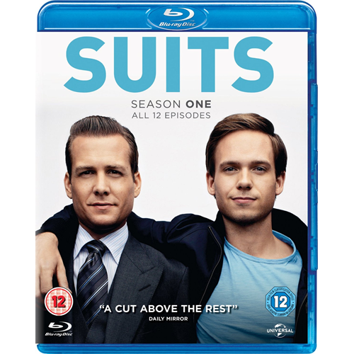 Suits - Sesong 1 (BLU-RAY)