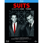 Suits - Sesong 1 - 3 (BLU-RAY)