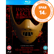The Hannibal Lecter Trilogy (UK-import) (BLU-RAY)