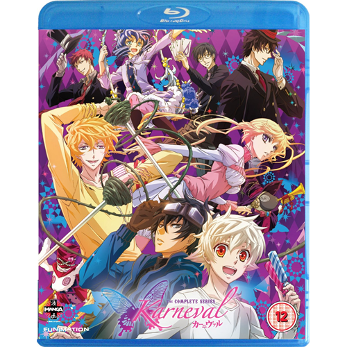 Karneval - The Complete Series (UK-import) (BLU-RAY)