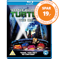 Teenage Mutant Ninja Turtles - The Movie (UK-import) (BLU-RAY)