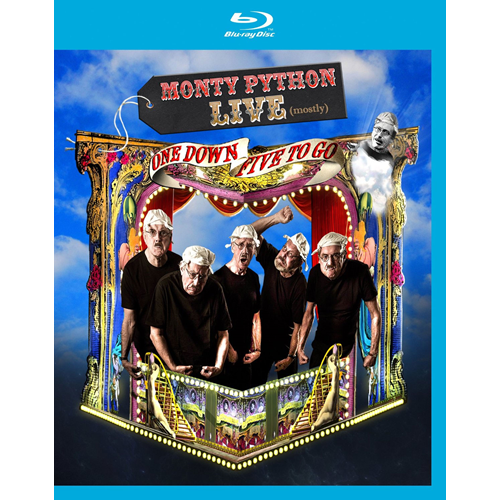 Monty Python - Live (Mostly), One Down Five To Go (UK-import) (BLU-RAY)