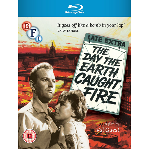 The Day The Earth Caught Fire (UK-import) (BLU-RAY)