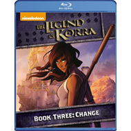 Produktbilde for The Legend Of Korra - Book Three: Change (BLU-RAY)