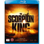 The Scorpion King - 4 Movie Collection (BLU-RAY)