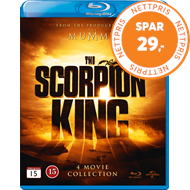 Produktbilde for The Scorpion King - 4 Movie Collection (BLU-RAY)