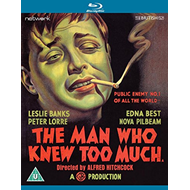 The Man Who Knew Too Much (UK-import) (BLU-RAY)