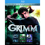 Grimm - Sesong  1 - 3 (UK-import) (BLU-RAY)