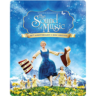 The Sound Of Music  - 50th Anniversary Limited Steelbook Edtion (UK-import) (BLU-RAY)