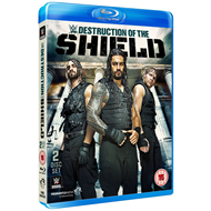 WWE: The Destruction Of The Shield (UK-import) (BLU-RAY)