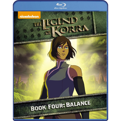 The Legend Of Korra - Book Four: Balance (BLU-RAY)