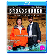 Broadchurch - Sesong 1 & 2 (UK-import) (BLU-RAY)