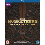 The Musketeers - Sesong 1 & 2 (UK-import) (BLU-RAY)