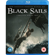 Black Sails - Sesong 2 (UK-import) (BLU-RAY)