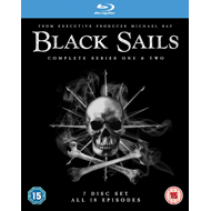 Black Sails - Sesong 1 & 2 (UK-import) (BLU-RAY)