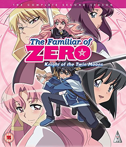 Familiar Of Zero - Knig Of The Twin Moons: The Complete Second Season (UK-import) (BLU-RAY)