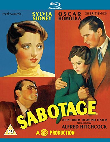 Sabotage (UK-import) (BLU-RAY)