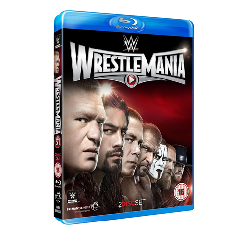 WWE - Wrestlemania 31 (UK-import) (BLU-RAY)